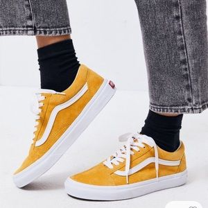 *NEW Mustard Old Skool Vans